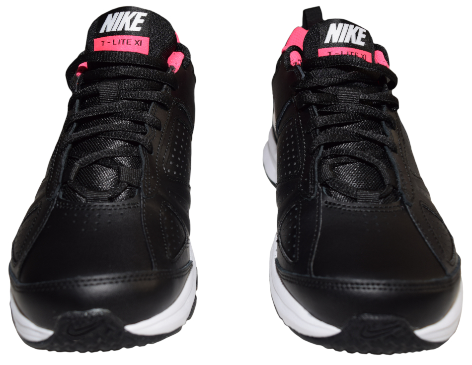 Details about Nike T Lite XI Shoe Sports Shoe Running Shoe Sneaker Black Pink LP 80 € NEW OVP show original title